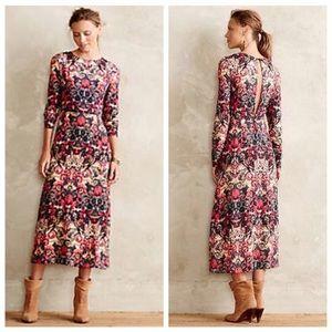 Anthropologie Sam & Lavi Selma Midi Dress